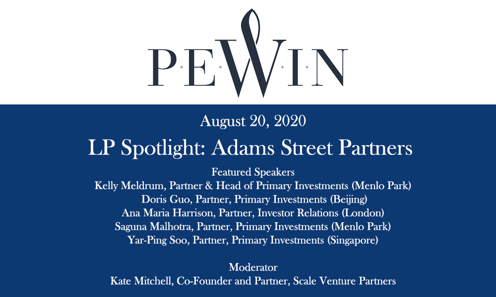 LP Spotlight Adams Street Partner Banner